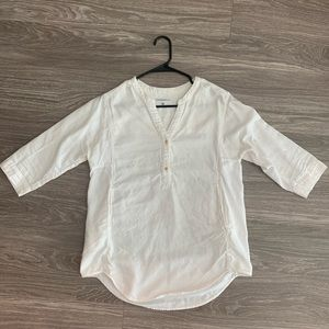 Aritzia by Community white shirt